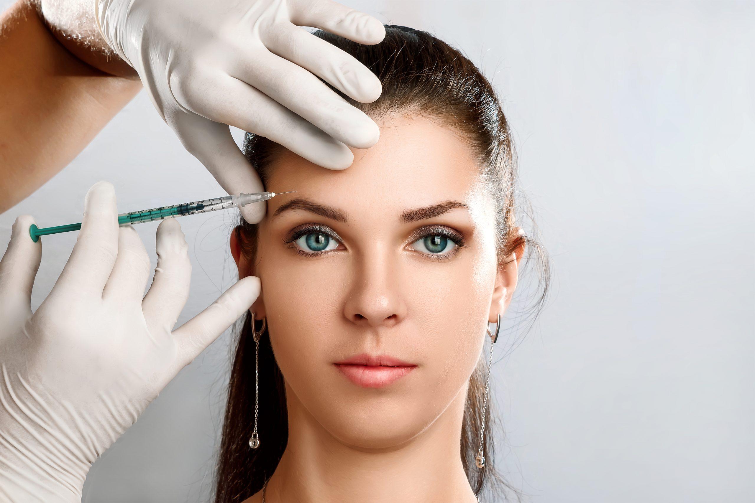 ögonbrynslyft med botox